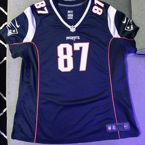 Other - Gronk Blue Patriots Jersey Youth XXL